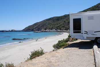 Avila Beach Camping Mobile